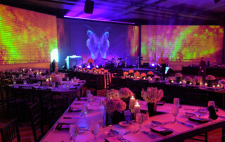 Event decors and audio video setup